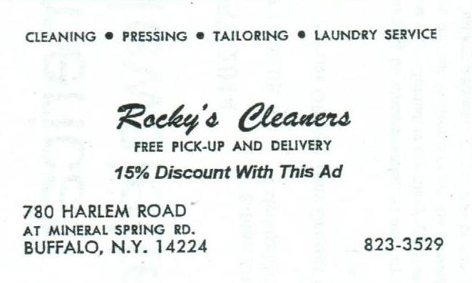 Rockys Cleaners